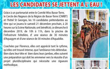 Miss Basse-Terre 2020 Toutes à l'eau
