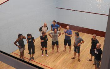 Un club de Squash a l'Hotel Saint-Georges